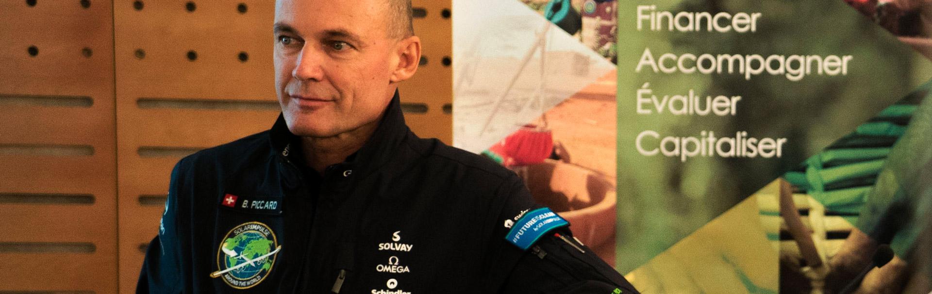 Bertrand Piccart - Solar Impulse - Portail Solidaire