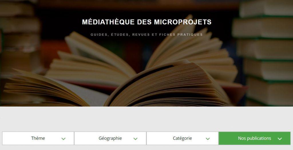 La médiathèque des microprojets