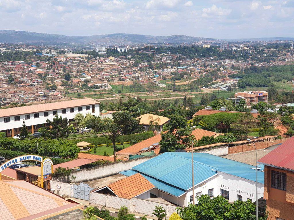Vue de la chambre à Kigali