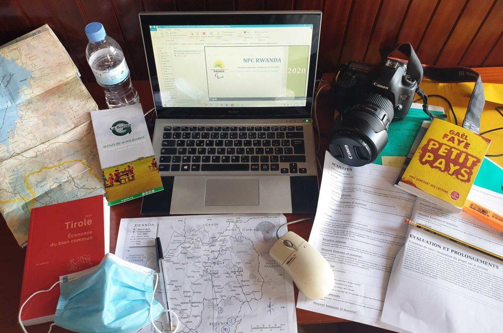 Bureau de préparatifs finaux pour la mission Rwanda